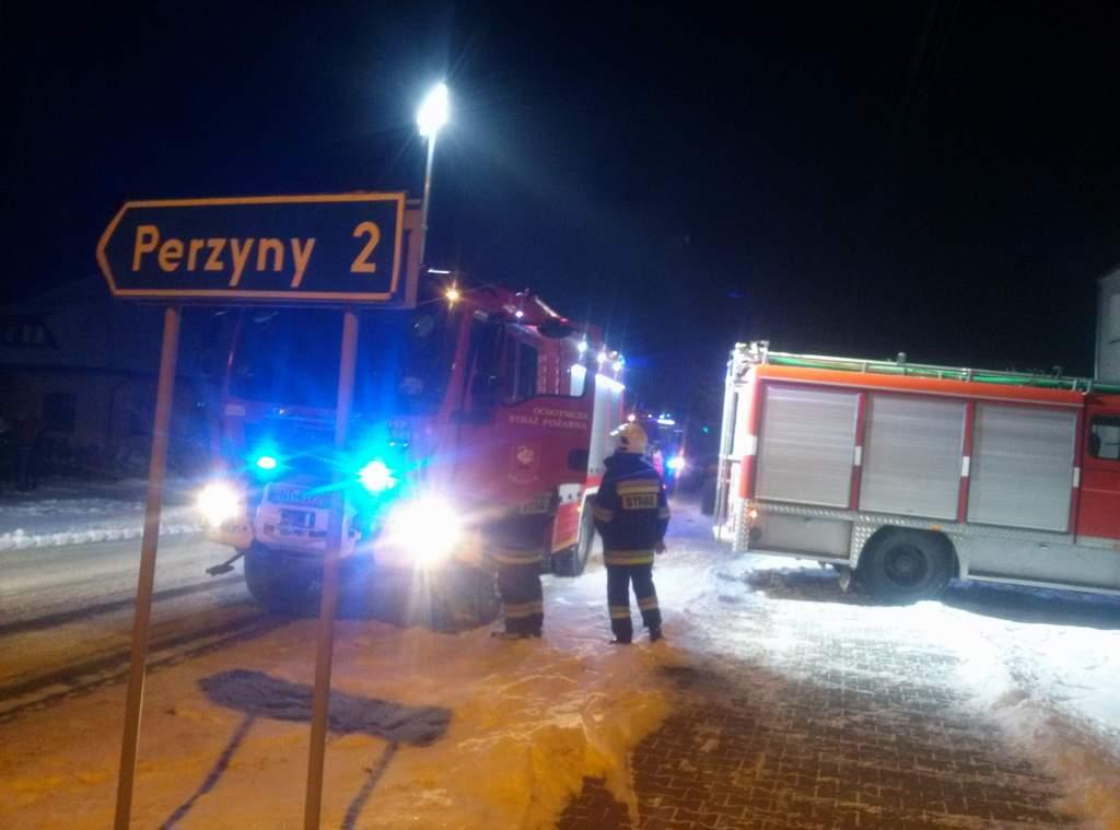You are browsing images from the article: Kolejny pożar sadzy. Tym razem w Przyprostyni