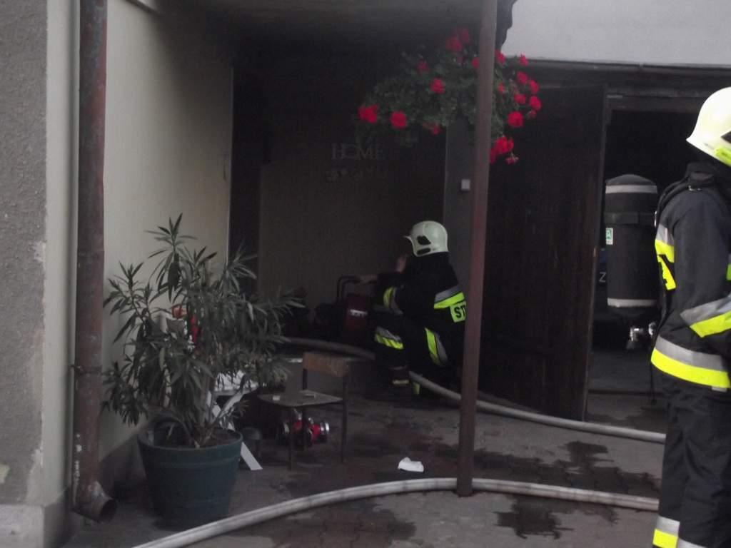 You are browsing images from the article: Pożar kotłowni w budynku jednorodzinnym w Przyprostyni