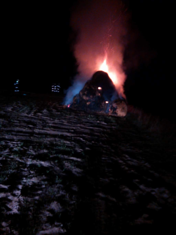 You are browsing images from the article: Celowe podpalenie balotów słomy w Strzyżewie?