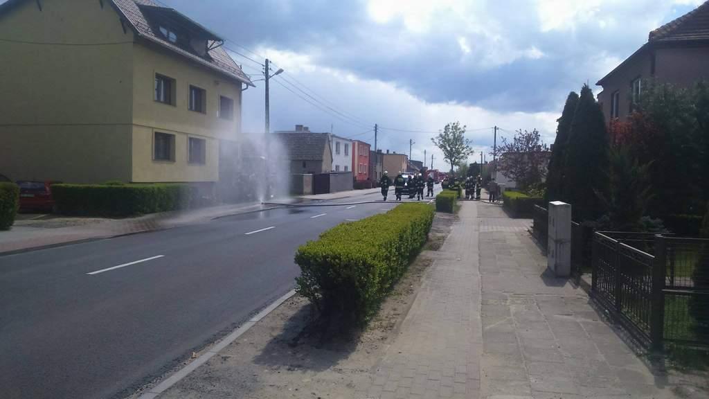 You are browsing images from the article: Przerwany wąż z gazem w Przyprostyni